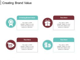 Creating Brand Value Ppt Powerpoint Presentation Infographic Template Layouts Cpb