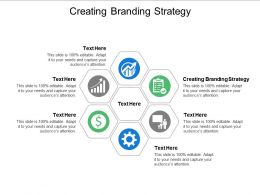 Creating Branding Strategy Ppt Powerpoint Presentation Outline Layout Ideas Cpb