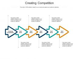 Creating Competition Ppt Powerpoint Presentation Model Graphics Template Cpb