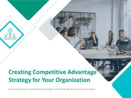 Creating Competitive Advantage Strategy For Your Organization Powerpoint Presentation Slides