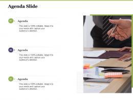 Creating Digital Transformation Roadmap For Your Business Agenda Slide Ppt Microsoft
