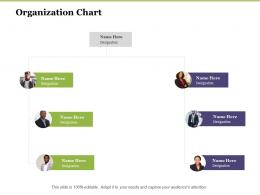 Creating Digital Transformation Roadmap For Your Business Organization Chart Ppt Infographics
