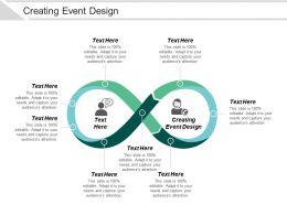 Creating Event Design Ppt Powerpoint Presentation File Master Slide Cpb