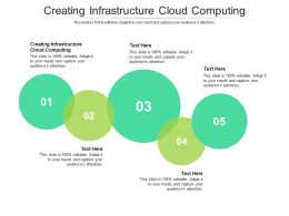 Creating Infrastructure Cloud Computing Ppt Powerpoint Presentation Guidelines Cpb