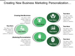 Creating New Business Marketing Personalization Customer Data Integration