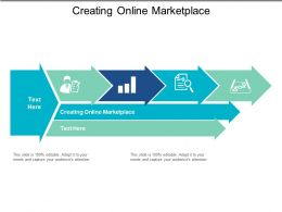 Creating Online Marketplace Ppt Powerpoint Presentation File Picture Cpb