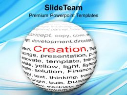 Creation Business Concept Powerpoint Templates Ppt Themes And Graphics 0313