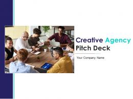 Creative Agency Pitch Deck PPT Template