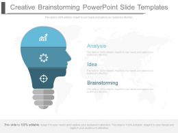 Creative Brainstorming Powerpoint Slide Templates
