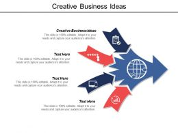 Creative Business Ideas Ppt Powerpoint Presentation File Diagrams Cpb