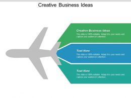 Creative Business Ideas Ppt Powerpoint Presentation Outline Show Cpb