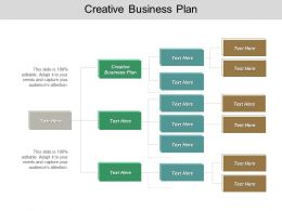 Creative Business Plan Ppt Powerpoint Presentation Infographic Template Pictures Cpb