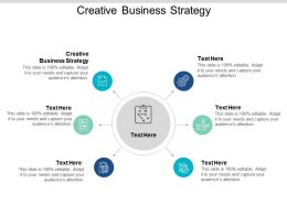 Creative Business Strategy Ppt Powerpoint Presentation Styles Deck Cpb