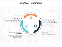 Creative Fundraising Ppt Powerpoint Presentation Infographics Infographics Cpb