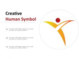 Creative Human Symbol