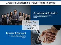 Creative Leadership Powerpoint Themes
