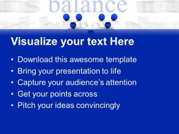 Creative Marketing Concepts Powerpoint Templates Balance Business Strategy Ppt Layout