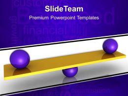 Creative Marketing Concepts Templates Balance Growth Finance Editable Ppt Slide Powerpoint