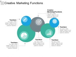 Creative Marketing Functions Ppt Powerpoint Presentation Summary Slide Portrait Cpb