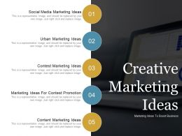 Creative Marketing Ideas Powerpoint Slide Template