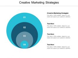 Creative Marketing Strategies Ppt Powerpoint Presentation File Picture Cpb