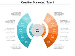 Creative Marketing Talent Ppt Powerpoint Presentation File Pictures Cpb