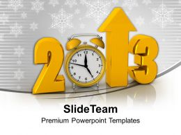 Creative New Year 2013 Background PowerPoint Templates PPT Backgrounds For Slides 0113