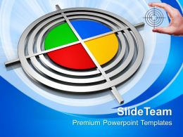 Creative Pie Chart Business Powerpoint Templates Ppt Themes And Graphics 0113