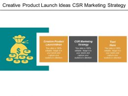 Creative Product Launch Ideas Csr Marketing Strategy Email Acquisition Cpb