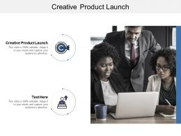 Creative Product Launch Ppt Powerpoint Presentation Gallery Themes Cpb