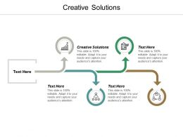 Creative Solutions Ppt Powerpoint Presentation Pictures Vector Cpb