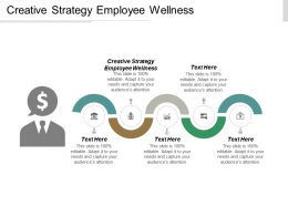Creative Strategy Employee Wellness Ppt Powerpoint Presentation Gallery Visual Aids Cpb