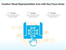Creative Visual Representation Icon With Key Focus Areas