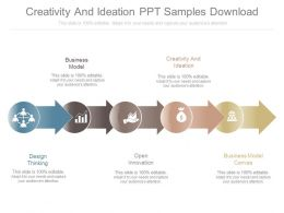 Creativity And Ideation Ppt Samples Download