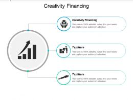 Creativity Financing Ppt Powerpoint Presentation Icon Layouts Cpb