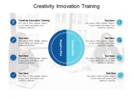 Creativity Innovation Training Ppt Powerpoint Presentation Professional Slide Cpb