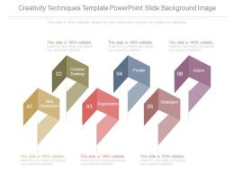 Creativity Techniques Template Powerpoint Slide Background Image