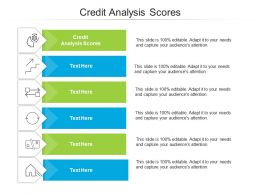 Credit Analysis Scores Ppt Powerpoint Presentation Slides Backgrounds Cpb
