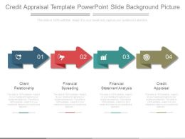 Credit Appraisal Template Powerpoint Slide Background Picture