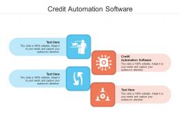 Credit Automation Software Ppt Powerpoint Presentation Professional Example Introduction Cpb