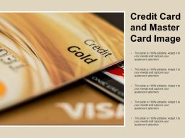 Credit Card And Master Card Image