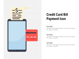 Credit Card Bill Payment Icon