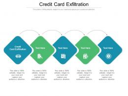 Credit Card Exfiltration Ppt Powerpoint Presentation File Formats Cpb