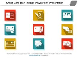 Credit Card Icon Images Powerpoint Presentation