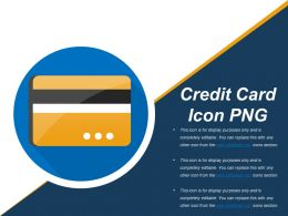 Credit Card Icon Png Powerpoint Slide Background