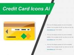 Credit Card Icons Ai Powerpoint Slide Deck