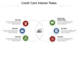 Credit Card Interest Rates Ppt Powerpoint Presentation File Background Image Cpb