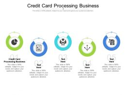 Credit Card Processing Business Ppt Powerpoint Presentation Portfolio Rules Cpb