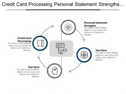 Credit Card Processing Personal Statement Strengths Personal Development Cpb