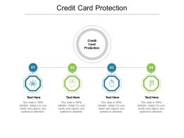 Credit Card Protection Ppt Powerpoint Presentation Show Layout Cpb